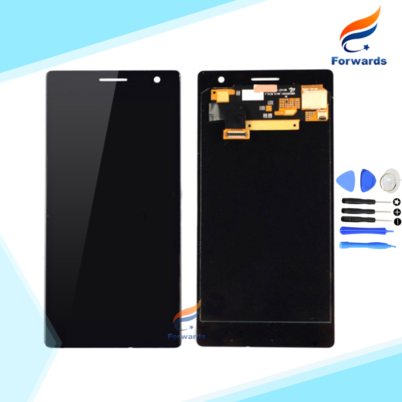 100% Brand New for Nokia Lumia 730 735 Lcd Screen Display with Touch Digitizer + Free Tools Assembly Black 1 piece free shipping 5 pcs free dhl ems shipping replacement lcd display with touch screen digitizer frame for nokia lumia 730 735 lcd assembly tools