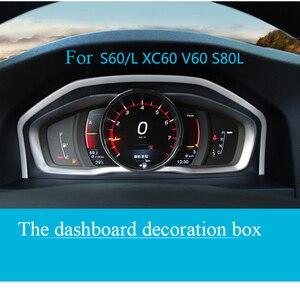 Image 1 - כוונון מיוחד מכשיר פנל דקורטיבי מסגרת נירוסטה עבור וולוו XC60 S60 S80V60 אוטומטי אביזרי פנים רכב סטיילינג