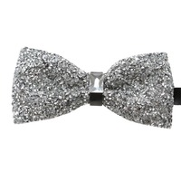 2015 New Arrival Rhinestone Bow Tie High Quality Men Fashion Bridegroom Butterfly Ties Adjustable Size S005