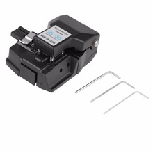 1 Set Black HS-30 Optical Fiber Cleaver High Accuracy Cutter Tool Electrician cutting tool