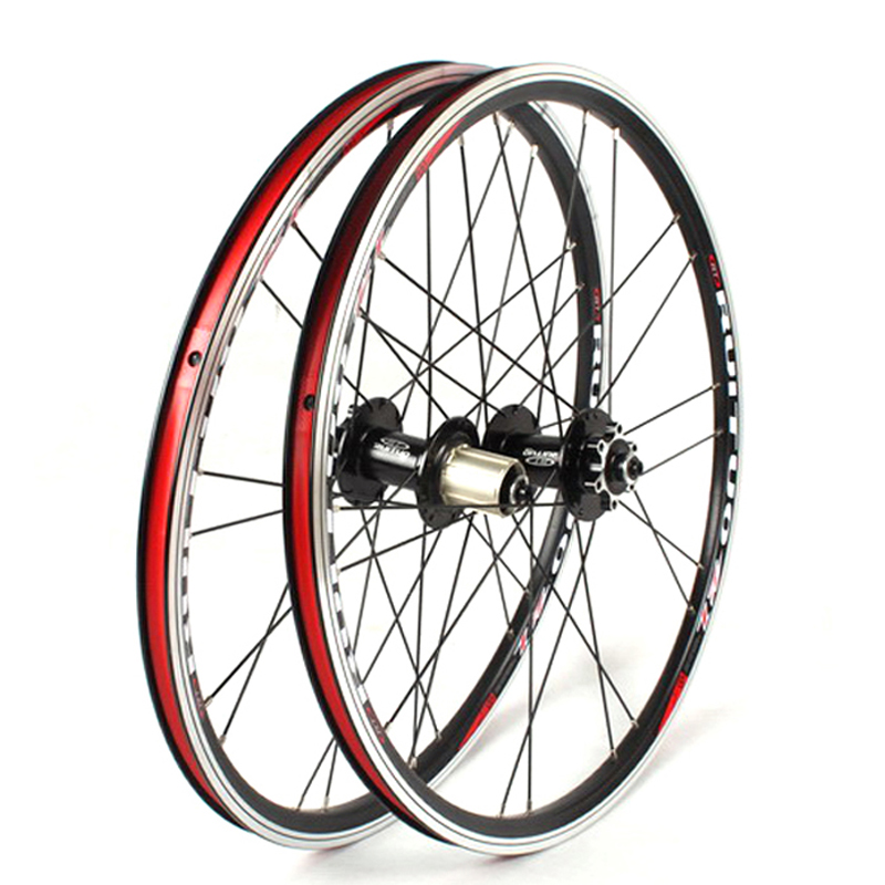 20 Inch Folding Bike 451 406 Wheel Aluminum V Brake Wheels