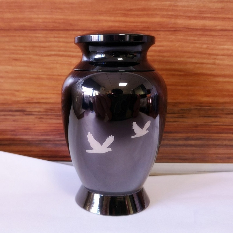 KLHU1 Stainless Steel Funeral Urn for Ashes-Display Burial Urn-Bird Going Home Cremation Urns for Human Ashes and Memorial KLHU1 Stainless Steel Funeral Urn for Ashes-Display Burial Urn-Bird Going Home Cremation Urns for Human Ashes and Memorial