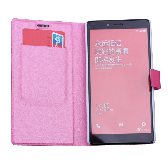 sneakers for cheap 6c012 b8a0e US $8.66 |Flip case for XiaoMi Redmi Note 1s leather luxury book cover  stand holder for hongmi Note phone case for red rice Free shipping on ...