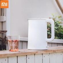 Оригинальный Xiaomi Mijia 1.5L чайник для воды ручной мгновенный нагрев Электрический чайник для воды автоматическая защита от взлета проводной чайник