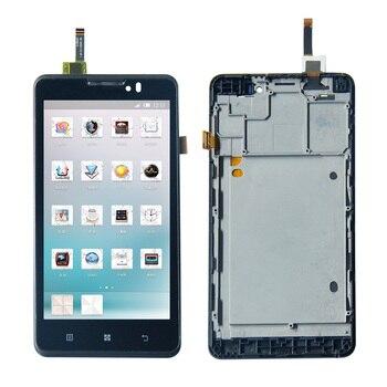 Para Lenovo P780 LCD pantalla táctil Panel digitalizador montaje con marco + herramientas