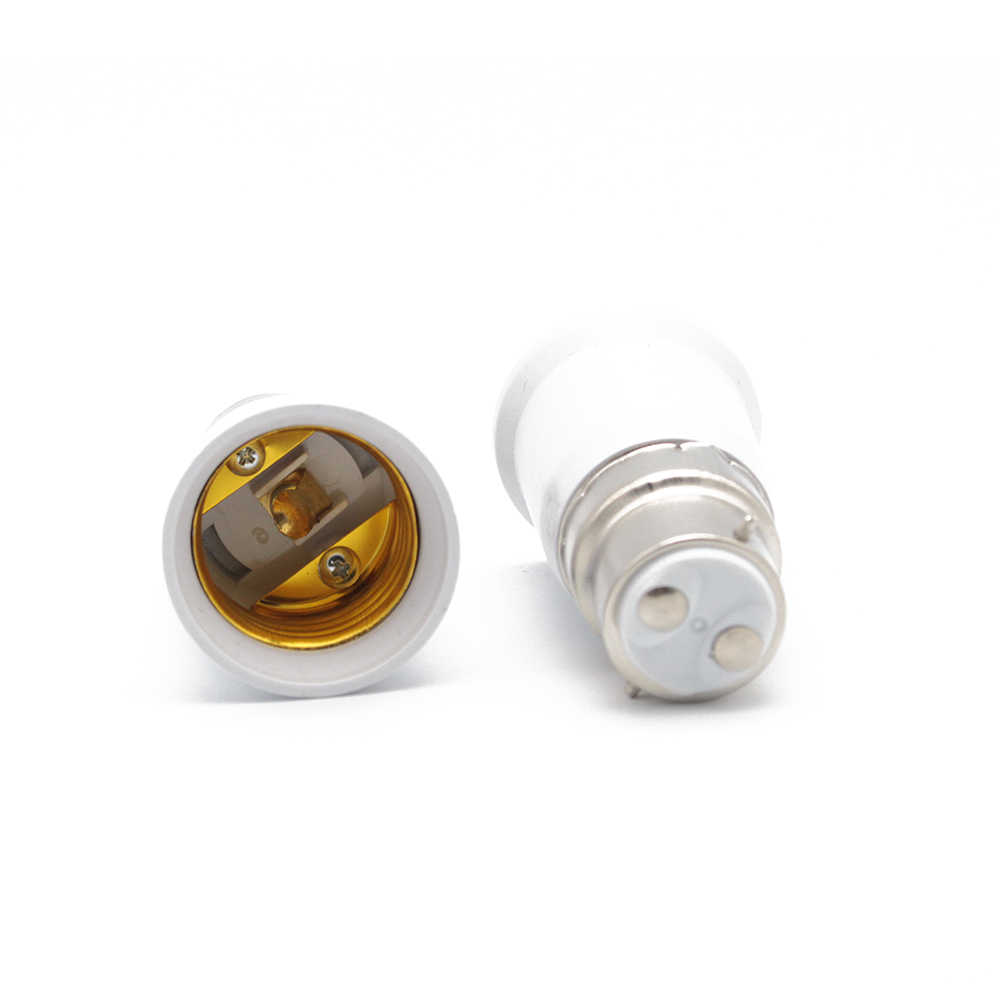 حربة ضوء لمبة bc b22 es e27 اديسون المسمار تحويل حامل مصباح محول المناسب