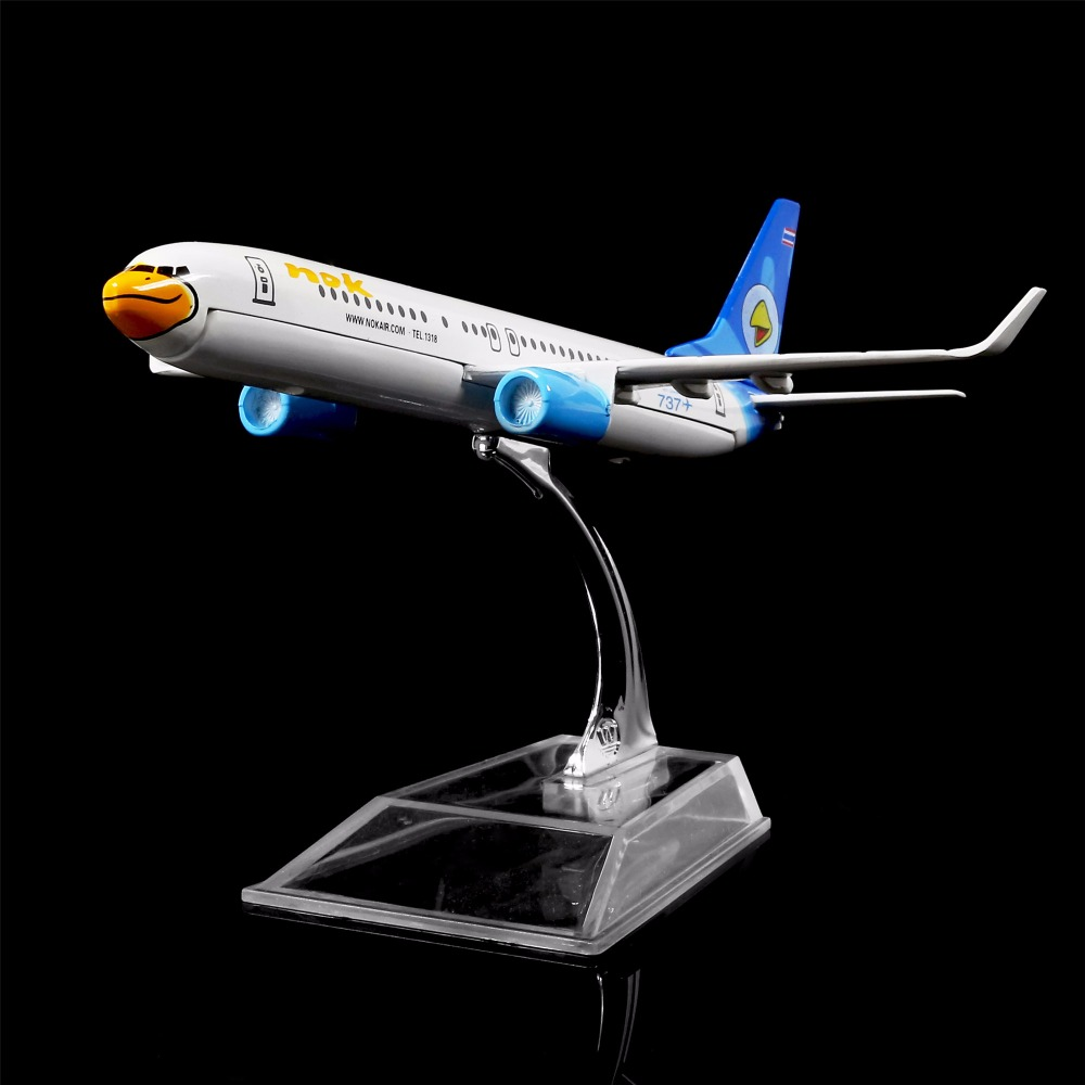 1:400 16cm NOK Airlines Boeing 737  Metal Airplane Model Office Decoration Toy Gift Idea