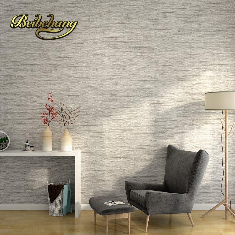 Nice Beibehang Minimalistische Einfache Feste Farbe Grau Vliestapete Tapete  Schlafzimmer Wohnzimmer TV Kulisse Tapete Papel De Parede Home Design Ideas