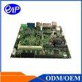 Mini-itx fanless motherboard industrial cpu i3/i5/i7 com chipset intel qm77 motherboard com slot isa intel core i7