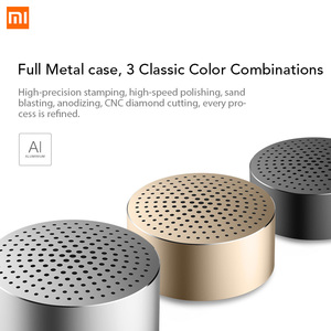 Image 2 - Original Xiaomi Bluetooth Portable Speaker with Mic Headset Speaker Metal Steel Stereo