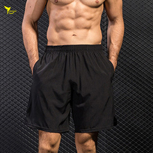 2019 Summer Men's Quick Dry Running Shorts Men Base Layer Polyester Jogging Shorts Breathable Sport Clothing Gym Fitness Shorts