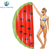 Giant Half Watermelon Inflatable Pool Float For Adult And Children Floating Island Swimming Board Air Mattress Water Toys