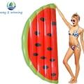 Gigante Meia Melancia Float Piscina Inflável Para Adultos E Crianças Ilha Flutuante Placa de Natação Colchão de Ar Brinquedos de Água