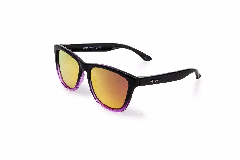 Winszenith 45 2018 Модные солнцезащитные очки унисекс очки UV400 Роза линзы защищают глаза Для женщин очки поляризованные