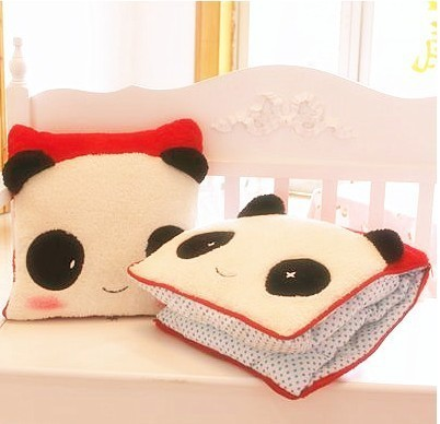 NEW!!!1 piece/lot  Car Accessories Plush Cushion  pillow  Air conditioning quilt  Multifunction