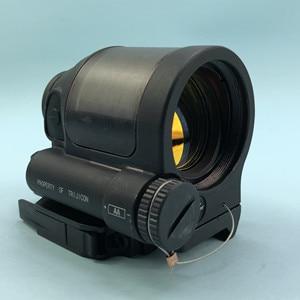 Image 1 - SRS 레드 닷 시력 1x38 QD 마운트 사냥 반사 시력 태양 광 발전 시스템 전술 소총 범위 Flashkiller 블랙