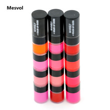 4 Colors Lip Gloss Makeup 1pcs Moisturizer Flashing  Net 5.2g Full Size M-229 China Brand