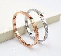 A Korean Version Of The G Steel Rose Gold Bracelet Female Models The New High Quality