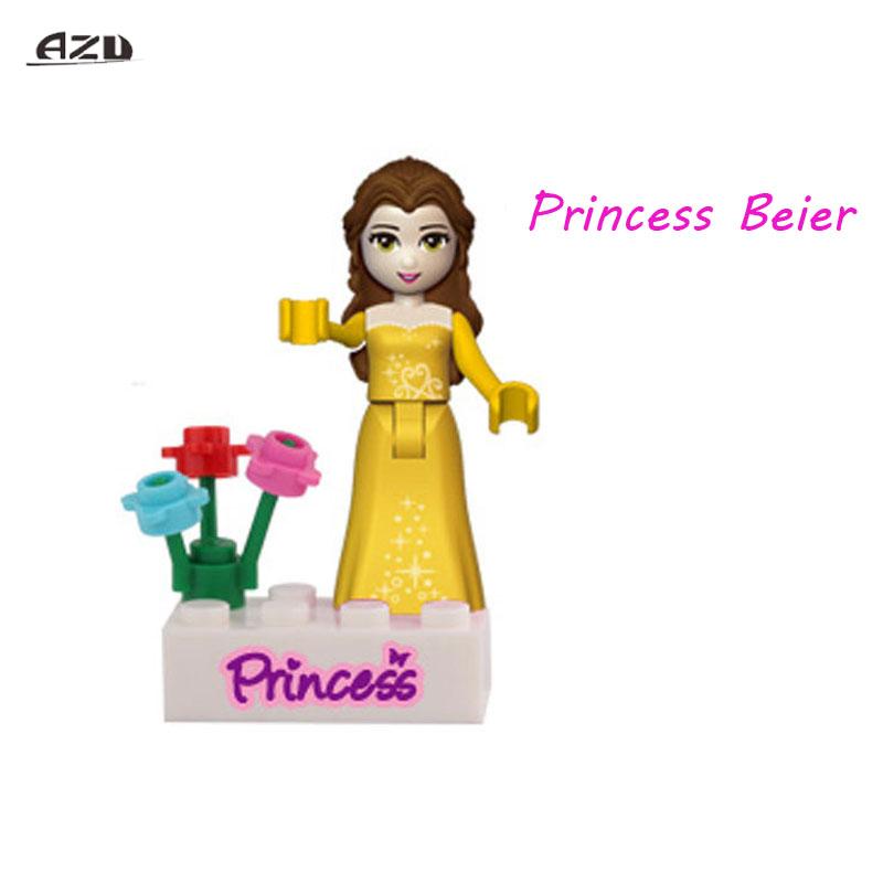 Baukästen Mädchen Serie Schneewittchen Party Spielzeug Bausteine Blocks 6 Sätze
