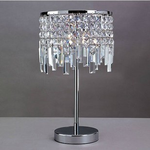 Free shipping Swarovski crystal table lamp table lamps 2014 Qilang new crystal  lamps bedside lamp bedroom in Metal Halide Lamps from Lights   Lighting on. Free shipping Swarovski crystal table lamp table lamps 2014 Qilang