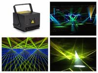 Laser 1W RGB Animation Laser Show System Analog Modulation 20Kpps scanner ILDA Control laser stage light event wedding party