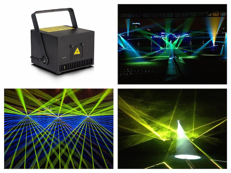 Laser 1W RGB Animation Laser Show System Analog Modulation 20Kpps scanner ILDA Control laser stage light event wedding party fuzzy logic supervisory control of discrete event system