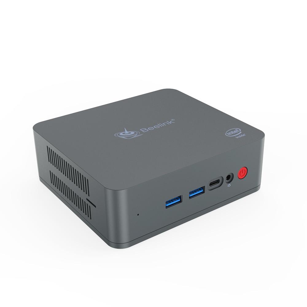Beelink U55 I3 5005U 512GB Mini PC dual band WiFi 2 * HD ausgang Windows10 pro 64Bit tasche mini set-top-tv box