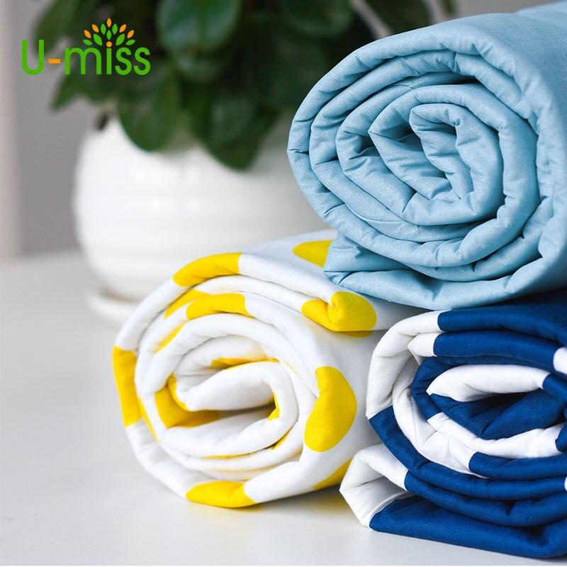 U-miss Accueil Textile Coton Imprimé Épais Coussin Couverture Sous-Couche Ménage Planche À Repasser Couverture