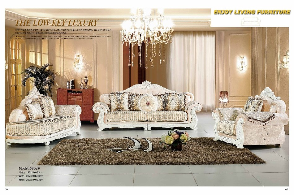 2016 Beanbag Chaise Set Baroque Furniture Living Room Sectional Sofa European Style Leather Couch Hot Sale Factory Direct Sell In Sofas From