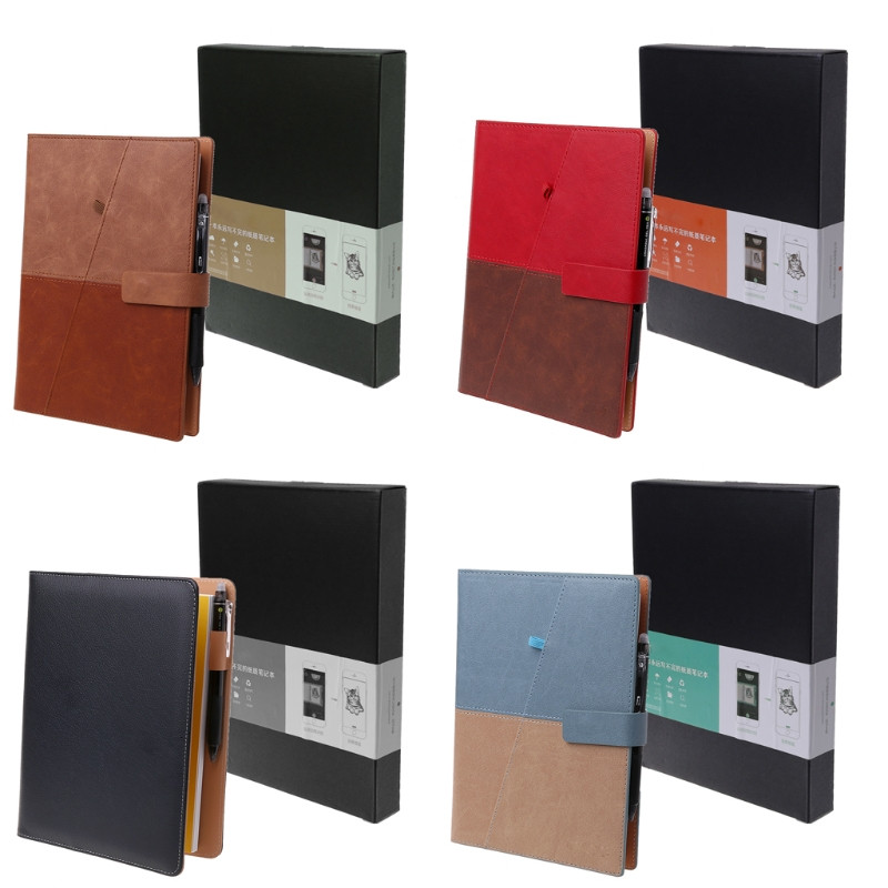 Drawing Erasable A5 Notebook Leather Reusable Smart Notepad School Office Gift