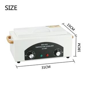 Image 4 - 300 واط الحرارة الجافة ارتفاع درجة الحرارة صندوق تعقيم جهاز تعقيم للأسنان مانيكير مجفف معقم أداة مستودع في الخارج