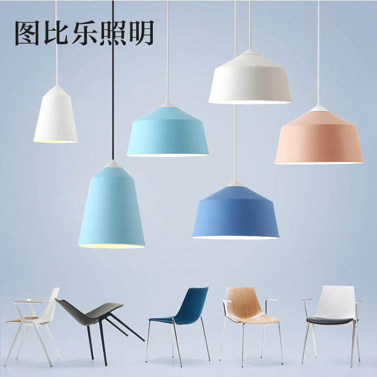 Nordic Pendant Lights Wood Aluminum Lampshade Industrial Lighting Loft Lamparas Colorful Pendant Lamp E27 Base Light FixturesNordic Pendant Lights Wood Aluminum Lampshade Industrial Lighting Loft Lamparas Colorful Pendant Lamp E27 Base Light Fixtures