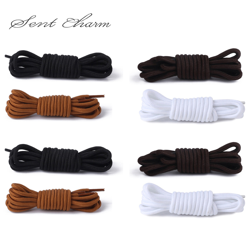 SENTCHATM Shoe Laces Round Elastic Silicone Fat For Martin Boots Outdoors Lace In Shoelaces LT003
