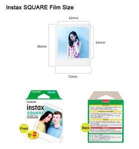 Image 5 - Fujifilm Instax حصة SP 3 طابعة محمولة فيلم لحظة صور مربع مربع الطابعات أسود/أبيض + 20/40 ورقة Instax مربع الأفلام