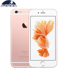 Akıllı telefon için orijinal Apple iPhone 6S artı çift çekirdekli cep telefonu 5.5 ''12.0MP 2G RAM 16/64/128G ROM LTE cep telefonu