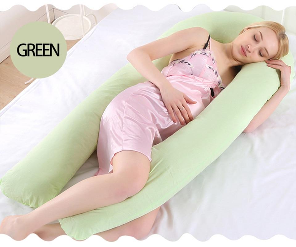 Bedding Pillows U Shape Pregnancy Pillow Full Body Maternity Pillow Comfort Sleeping Support Pillow For Pregnant Women Body _27_