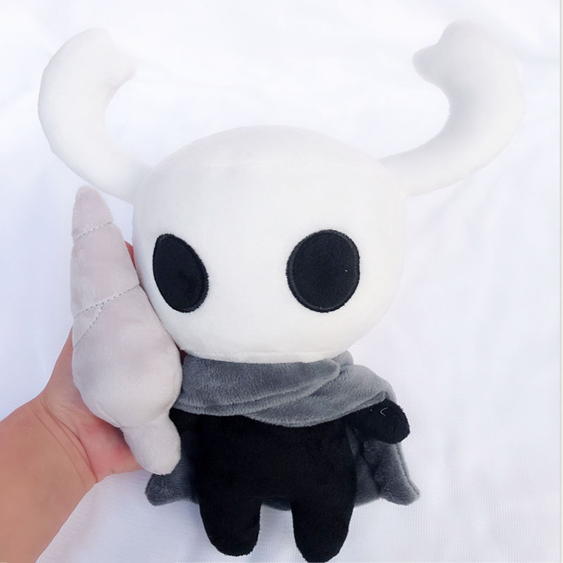 30cm Hot Game Hollow Knight Plush Toys Figure Ghost Plush Stuffed Animals Doll Brinquedos Kids Toys For Children Christmas Gift