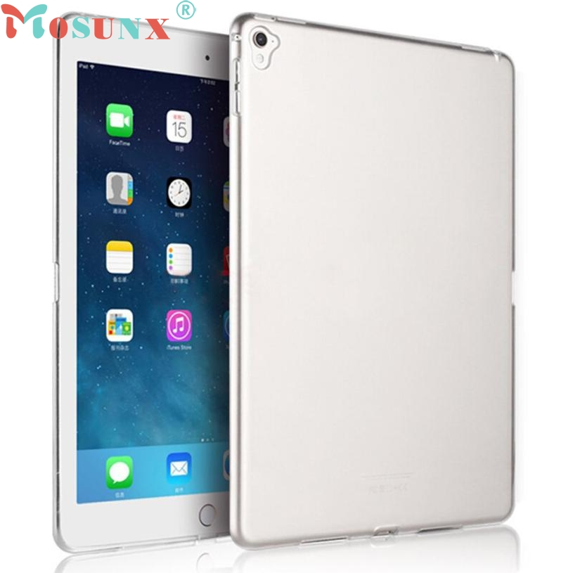 For iPad Pro 9.7inch Tablet ULTRA THIN Clear Rubber Soft TPU Cover Perfect Fit Case Anti-Scratches Protective Shell Skin MAY3 soft silicon tpu case for apple ipad pro 9 7 back cover tablet ultra thin clear transparent fundas protective bags skin shell