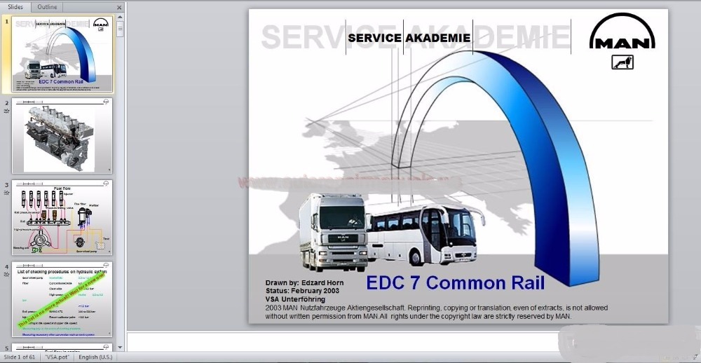 for Man Truck & Bus Full Service Manual, Service Training