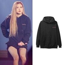 BLACKPINK Album ROSE women hoodies sweatshirt printed causal
