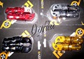 Motorcycle CNC Aluminum Rear Passenger Foot Peg Footrests For Yamaha Fazer FZ1 2001-1013 Fazer FZ6 2004-2010 MT03 06-13