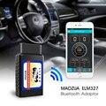 Maozua eml327 obd2 ferramenta de verificação bluetooth para ios pc android torque v1.5 obdii do carro veículo de digitalização