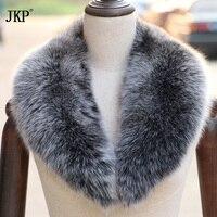 商品フォックス毛皮の襟のショールスカーフをラップラップ肩首ウォーマー卸売熱い販売リングスカーフ用女