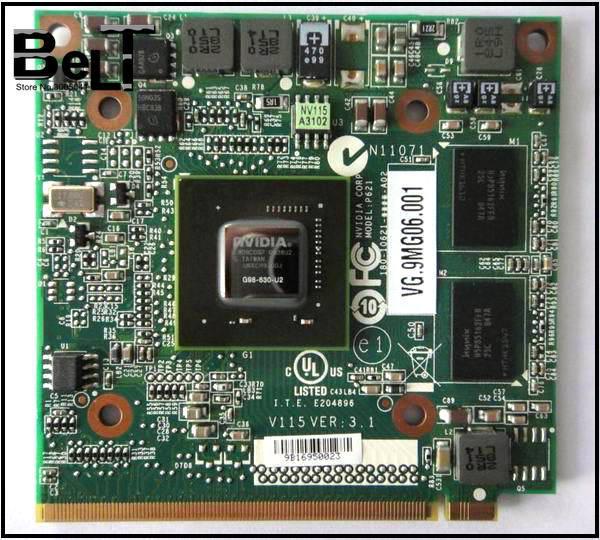 ספינה חינם 5520 גרם 6930 גרם 7720 גרם 4630 גרם 7730 גרם מחשב נייד GeForce 9300 M GS 630-U2 DDR2 256 MB MXM השני גרפי כרטיס עבור Acer Aspire