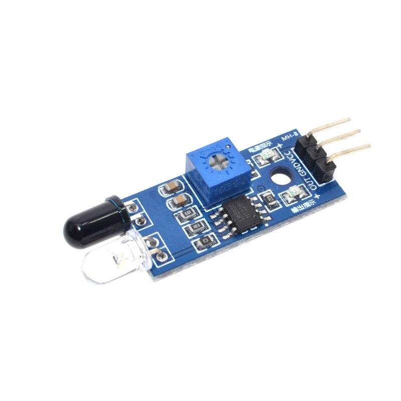 Électronique intelligente nouveau pour Arduino bricolage voiture intelligente Robot réfléchissant photoélectrique 3pin IR infrarouge capteur d'évitement d'obstacles Module