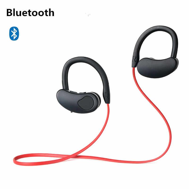 Sportowe słuchawki bluetooth słuchawki bezprzewodowe zestaw słuchawkowy stereo słuchawka słuchawki bluetooth HiFI Bass zestaw głośnomówiący z mikrofonem dla ios