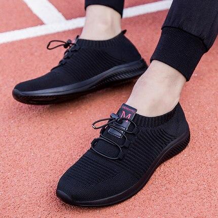 2019 printemps été hommes chaussures respirant Air léger maille hommes chaussures décontractées antidérapant Absorption des chocs hommes baskets Zapatillas Hombre