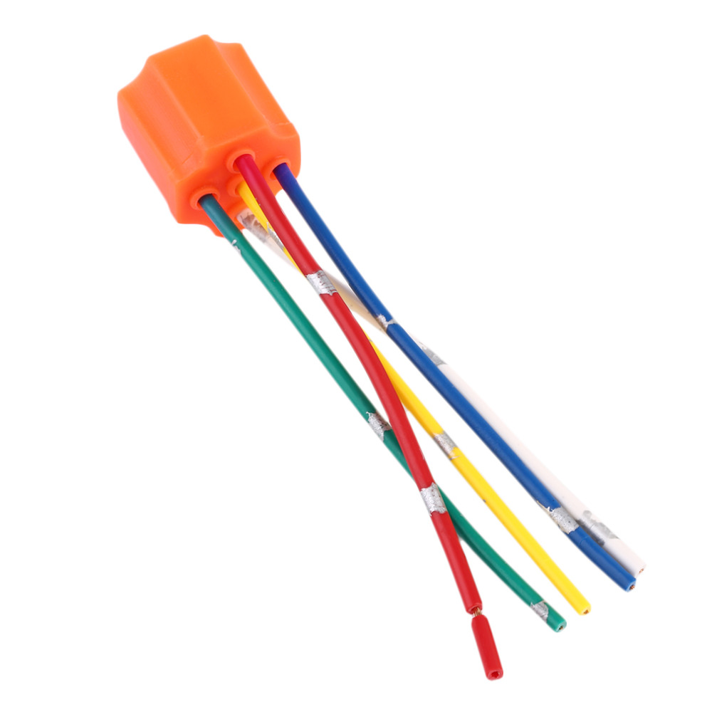 Car Wire Harness Wiring Orange Library Replacement Pins Relay Socket Plastic 5 Pin For