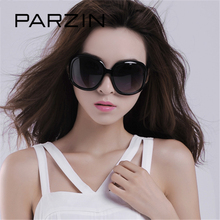 Parzin Для женщин Брендовая Дизайнерская обувь Солнцезащитные очки для женщин квадратный элегантные женские очки большой Рамка вождения Защита от солнца Очки с логотипом Box 6216