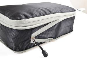 Image 5 - Sac de rangement de voyage de 3 pièces, ensemble de vêtements, organisateur rangé, pochette de valise de garde robe, sac organisateur de voyage, étui, sac demballage Cube de chaussures